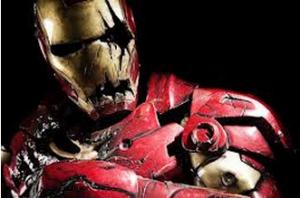 Oh ouais! Iron man qui fait peur