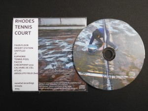 Rhodes Tennis Court – Compact Disc